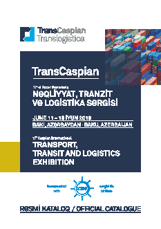 TRANSCASPIAN 2018 Official Catalogue